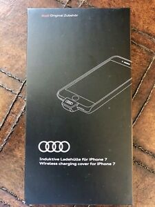 Audi Wireless Charging Cover for iPhone 7 8W0051435B