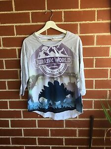 Jurassic world ladies pyjama top Woolooware Sutherland Area Preview