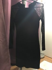 Women black dress