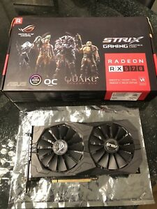 Asus Strix RX 570 ROG 4GB Mint!