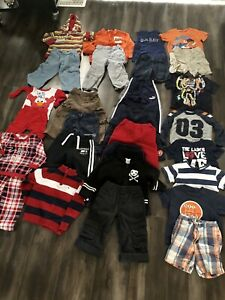 Box of boys clothes 2T
