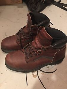 Red wing boots size 10
