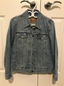 Levi's Blue Denim Trucker Jacket (Size S)