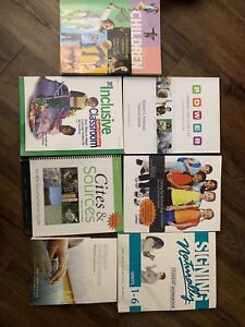 College books (ECE, and police foundations)