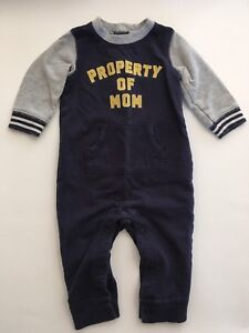 Carters baby boy 9 months romper