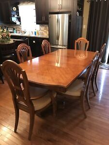 Gorgeous Thomasville Dining Table and Chairs
