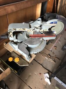 Chop saw, rounder table