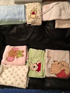 Blankets for babies lot for 10$