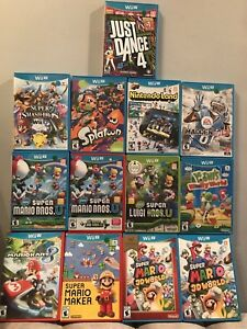 High Quality Used Wii U Games-prices vary see last pic