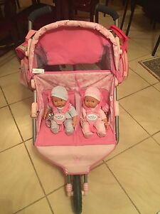 Baby Born Twin Jogger Pram Sunnybank Hills Brisbane South West Preview