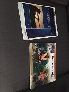Hunter safety course and firearm safety books