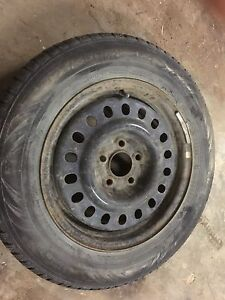 195/65/r15winter tires and rims