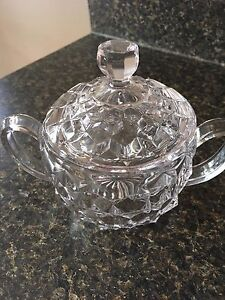 Antique Sugar bowl with lid