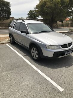 2006 Holden Adventra SX6 Swap for 4x4x Pajero, Discovery, 7 Seater