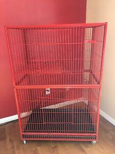 Grande cage à 3 étages