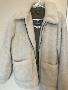BNWT Topshop Teddy bear coat