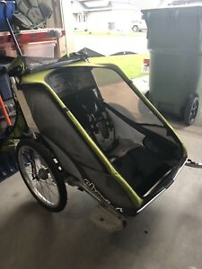 Thule Chariot cougar 2- double stroller