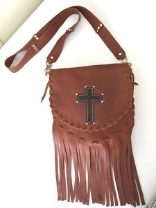 Hand made leather purses