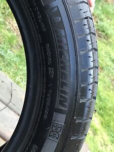 P225/50R17 Michelin tires