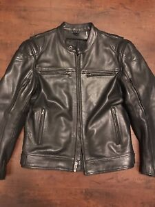 First MFG Top Performer leather jacket