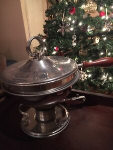 Vintage/Antique chafing dishes