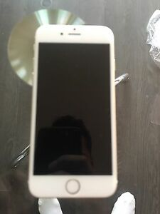 Gold iPhone 6 128gb with accessories telus OBO