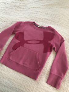 Girls Under Armour sweat shirt Xs (6ish)
