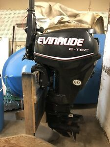 2012 Evinrude Etec 25 Long Shaft
