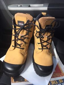 Work boots new