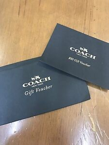 $50 Gift Voucher for COACH Coogee Eastern Suburbs Preview