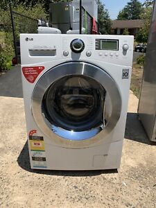 LG 10KG direct drive front load washing machine working perfectly