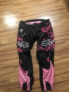 Two pairs FOX  women Motorcross pants