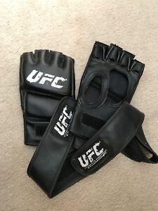 UFC leather training gloves