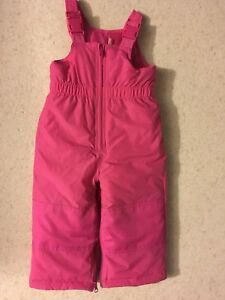 Pink 24 Month Snow pants