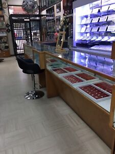 Closing Sale; Display Cabinets