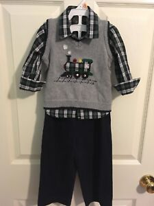 Docker's 24 month 3 piece outfit