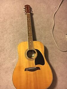 Ibanez Talmon (bass) and acoustic guitar