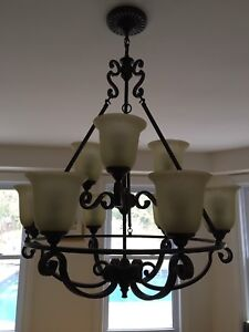9 Light Large Chandelier