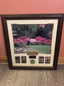 Tiger Woods Masters framed pictures