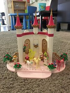 Playmobil unicorn fairy castle, excellent condition