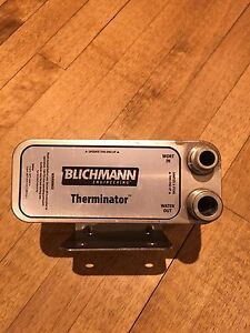 Blichmann Therminator homebrew plate chiller