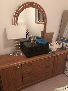 Dresser & Bedside Table in Excellent Condition -$100!!!