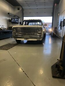 75 Chevy C 30 crew cab dually