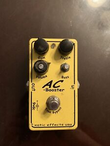 Xotic Effects Ac Booster - 140$