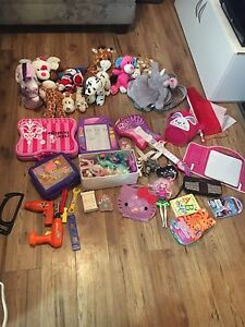 Mostly girls toys and stuffies