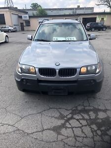 2006 BMW X3 auto loaded certified $5995