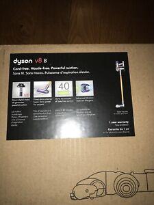 Sealed Refurbished Dyson V8 Vacuum W/ Full Dyson Warranty