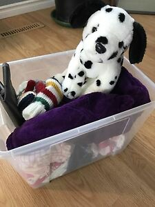 Box of Baby Girl Clothes 6-12 m $20 pick up west end