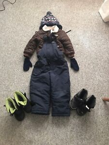 Winter clothes and shoes
