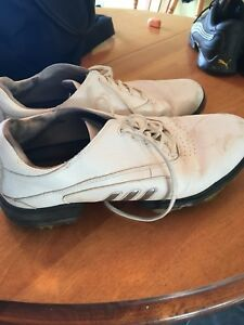 Size 10 1/2 Adidas Golf Shoes